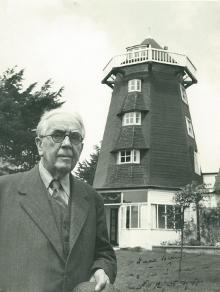 Photograph of John Ireland at Rock Mill