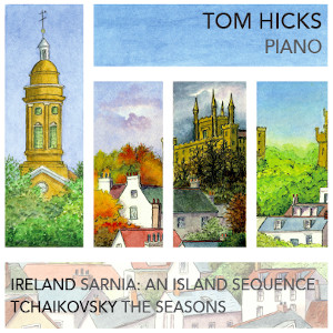 Tom Hicks - Piano (album cover)